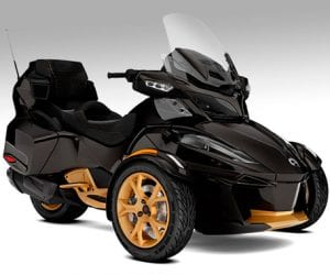 CanAm Spyder RT Limited especial 10 anos